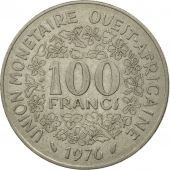 West African States, 100 Francs, 1976, Paris, SPL, Nickel, KM:4