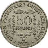 West African States, 50 Francs, 1972, Paris, SPL, Copper-nickel, KM:6