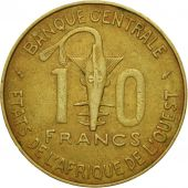 West African States, 10 Francs, 1979, Paris, MS(60-62), Aluminum-Nickel-Bronze