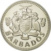 Barbados, 2 Dollars, 1973, Franklin Mint, BE FDC, Copper-nickel, KM:15