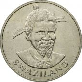 Swaziland, Sobhuza II, Lilangeni, 1975, British Royal Mint, SPL, Copper-nickel