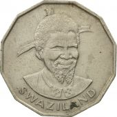 Swaziland, Sobhuza II, 50 Cents, 1974, British Royal Mint, SUP+, Copper-nickel