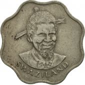 Swaziland, Sobhuza II, 10 Cents, 1974, British Royal Mint, SUP+, Copper-nickel