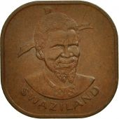 Swaziland, Sobhuza II, 2 Cents, 1974, British Royal Mint, TTB+, Bronze, KM:8