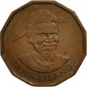 Swaziland, Sobhuza II, Cent, 1975, British Royal Mint, TTB+, Bronze, KM:21
