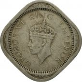 INDIA-BRITISH, George VI, 2 Annas, 1941, AU(55-58), Copper-nickel, KM:541