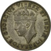 EAST AFRICA, George VI, Shilling, 1945, TTB, Argent, KM:28.4