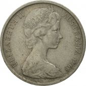 Australia, Elizabeth II, 10 Cents, 1966, AU(55-58), Copper-nickel, KM:65