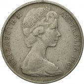 Australia, Elizabeth II, 20 Cents, 1967, MS(60-62), Copper-nickel, KM:66