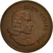South Africa, Cent, 1966, AU(50-53), Bronze, KM:65.1