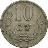 Luxembourg, Charlotte, 10 Centimes, 1924, SPL, Copper-nickel, KM:34