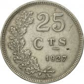 Luxembourg, Charlotte, 25 Centimes, 1927, SPL, Copper-nickel, KM:37