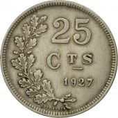 Luxembourg, Charlotte, 25 Centimes, 1927, SUP+, Copper-nickel, KM:37