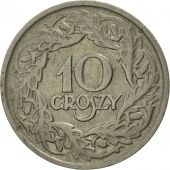 Poland, 10 Groszy, 1923, Warsaw, MS(60-62), Nickel, KM:11
