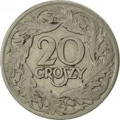 Poland, 20 Groszy, 1923, Warsaw, MS(60-62), Nickel, KM:12
