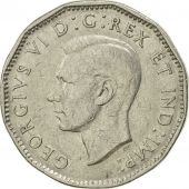 Canada, George VI, 5 Cents, 1947, Royal Canadian Mint, Ottawa, SUP+, Nickel
