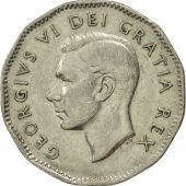 Canada, George VI, 5 Cents, 1949, Royal Canadian Mint, Ottawa, SUP+, Nickel