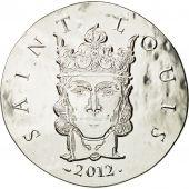 France, Monnaie de Paris, 10 Euro, Saint Louis, 2012, FDC, Argent, KM:1857