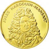 France, Medal, Jules Hardouin-Mansart, SPL, Vermeil