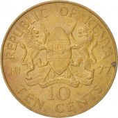 Kenya 10 Cents 1977 KM:11