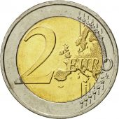 Greece, 2 Euro, Traité de Rome 50 ans, 2007, MS(63), Bi-Metallic