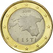 Estonia, Euro, 2011, SPL, Bi-Metallic, KM:67