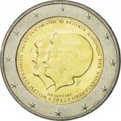 Netherlands, 2 Euro, Reine Beatrix, 2013, MS(63), Bi-Metallic