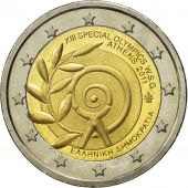 Greece, 2 Euro, Olympics Athens, 2011, MS(63), Bi-Metallic, KM:239