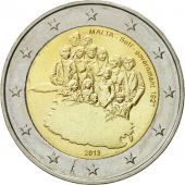 Malte, 2 Euro, Self-Government 1921, 2013, SPL, Bi-Metallic