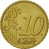 IRELAND REPUBLIC, 10 Euro Cent, 2002, TTB, Laiton, KM:35