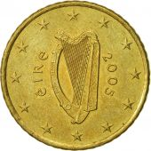 IRELAND REPUBLIC, 50 Euro Cent, 2005, TTB, Laiton, KM:37