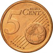 IRELAND REPUBLIC, 5 Euro Cent, 2004, SPL, Copper Plated Steel, KM:34