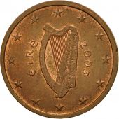 IRELAND REPUBLIC, 2 Euro Cent, 2003, TTB, Copper Plated Steel, KM:33