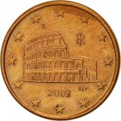 Italie, 5 Euro Cent, 2002, SUP+, Copper Plated Steel, KM:212