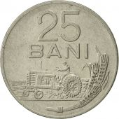 Roumanie, 25 Bani, 1966, SUP+, Nickel Clad Steel, KM:94