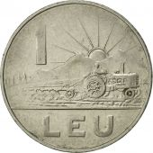 Roumanie, Leu, 1966, SUP+, Nickel Clad Steel, KM:95