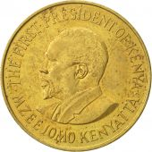 Kenya, 10 Cents, 1971, AU(50-53), Nickel-brass, KM:11