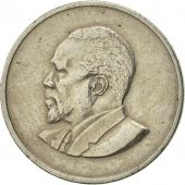Kenya, 50 Cents, 1966, AU(50-53), Copper-nickel, KM:4