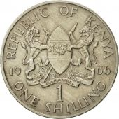 Kenya, Shilling, 1966, AU(50-53), Copper-nickel, KM:5