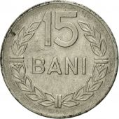 Roumanie, 15 Bani, 1960, TTB+, Nickel Clad Steel, KM:87