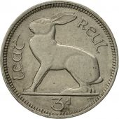 IRELAND REPUBLIC, 3 Pence, 1966, SUP, Copper-nickel, KM:12a