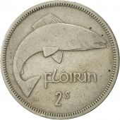 IRELAND REPUBLIC, Florin, 1962, TTB+, Copper-nickel, KM:15a