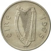 IRELAND REPUBLIC, 5 Pence, 1975, TTB+, Copper-nickel, KM:22