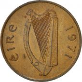 Coin, IRELAND REPUBLIC, Penny, 1971, AU(50-53), Bronze, KM:20