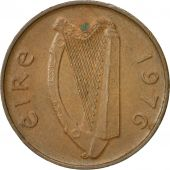 IRELAND REPUBLIC, Penny, 1976, TTB+, Bronze, KM:20
