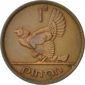 IRELAND REPUBLIC, Penny, 1941, TTB, Bronze, KM:11