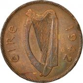 IRELAND REPUBLIC, Penny, 1942, TTB, Bronze, KM:11