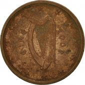 IRELAND REPUBLIC, 2 Euro Cent, 2002, TTB, Copper Plated Steel, KM:33