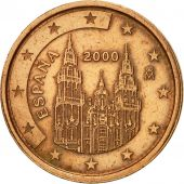 Espagne, 2 Euro Cent, 2000, SUP+, Copper Plated Steel, KM:1041