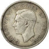 Canada, George VI, 25 Cents, 1940, Royal Canadian Mint, Ottawa, TB+, Argent